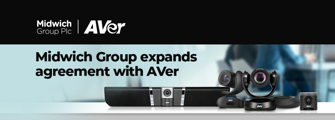 Mar 2021 Midwich Group expands agreement with AVer