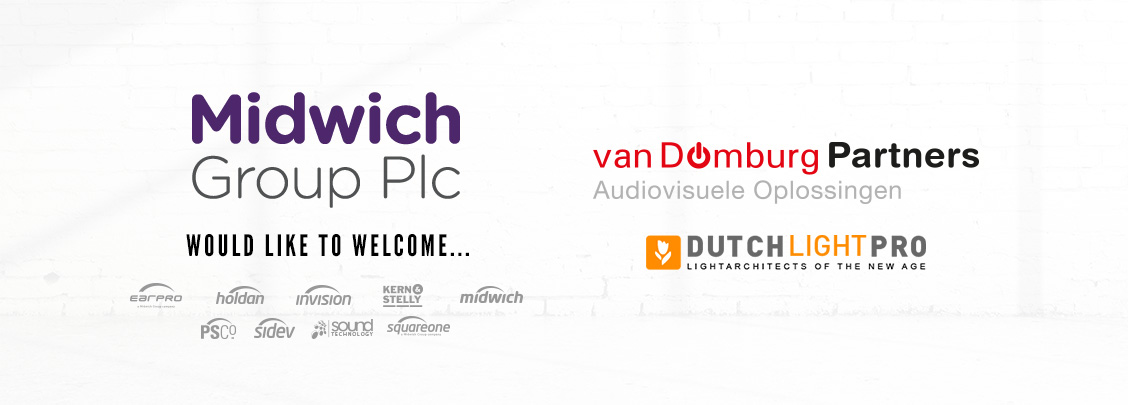 Midwich Group PLC Welcomes van Domburg