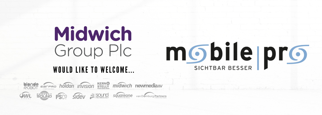 Midwich PLC Would Like to Welcome Mobile Pro2